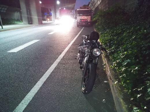 ガス欠(-_-;) (2)