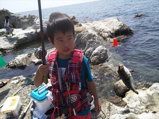 トンビ磯で釣り (30)