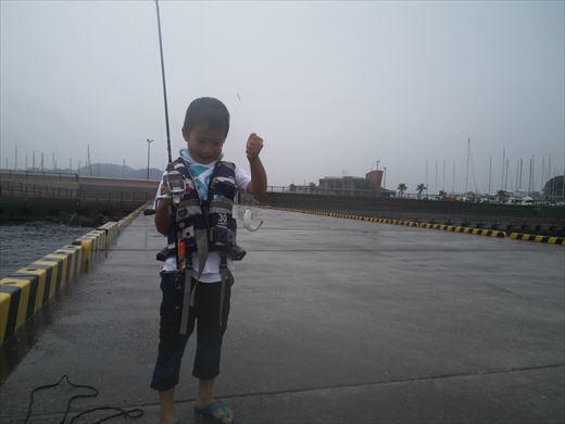 雨なのに釣り(^_^;) (3)