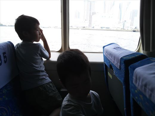 式根島キャンプ出発 (21)