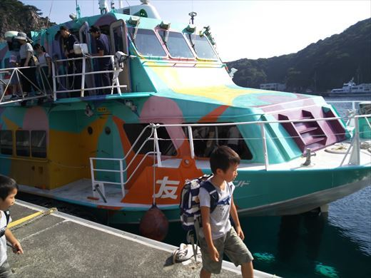 式根島キャンプ出発 (34)