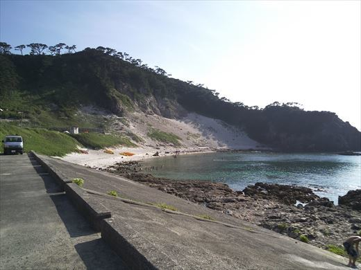 式根島キャンプ出発 (52)