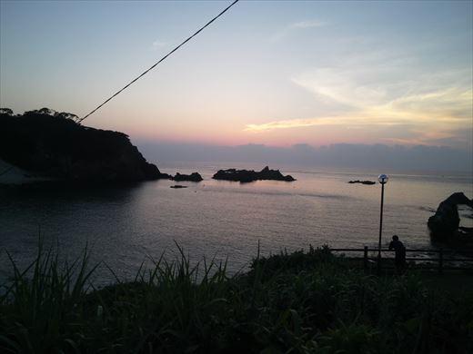 式根島2日目夜釣り (7)
