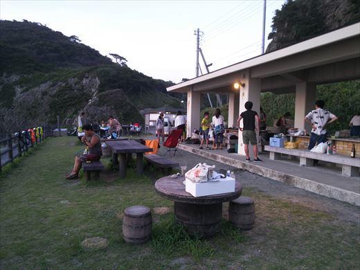 式根島2日目夜釣り (8)