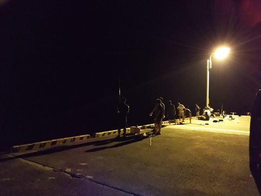 式根島2日目夜釣り (17)