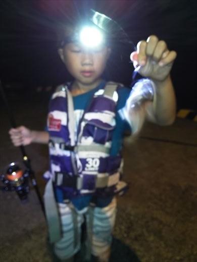 式根島2日目夜釣り (18)