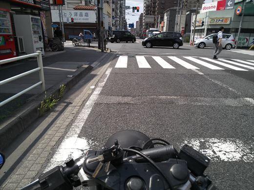 夏の単車通勤 (9)