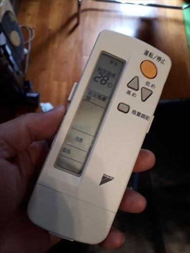エアコンのリモコン (7)
