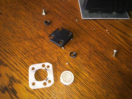ストレートラインサンダー修理 (2)