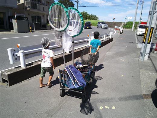 多摩川登戸釣り (3)