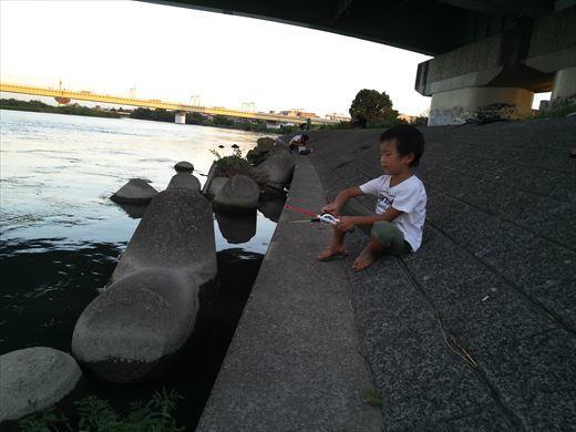 テナガエビ釣り (13)