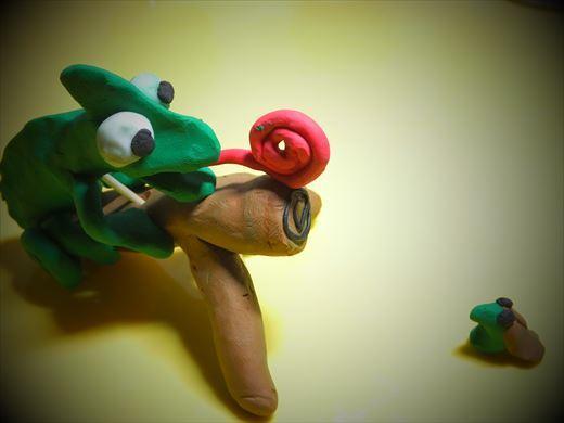 クレイアニメの粘土 (2)