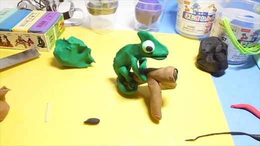 クレイアニメの粘土 (3)