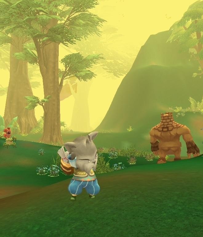 GFブログ(W10)用97A ガイアの林でSS撮影