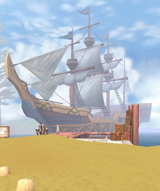 GFブログ(W10)用128A11 GFの風景・リンガス海岸 港の船