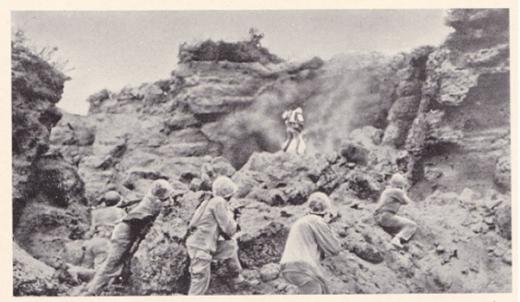 硫黄島日本軍殲滅2