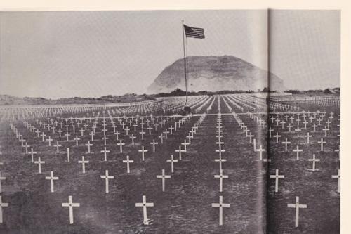 硫黄島米軍墓地2