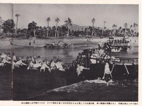 日本軍@ジャワ島上陸2