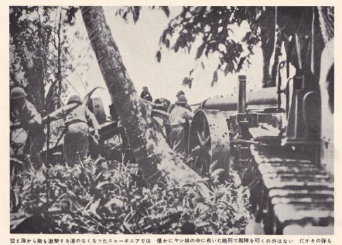 日本軍応戦@ニューギニア2