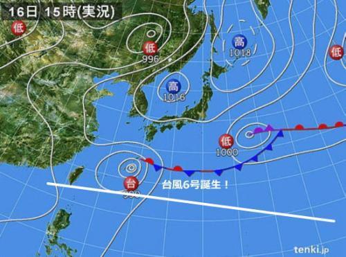 台風6号20180616550_2