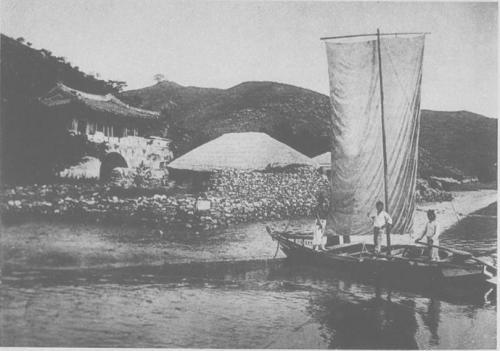 朝鮮港湾船ジャンク