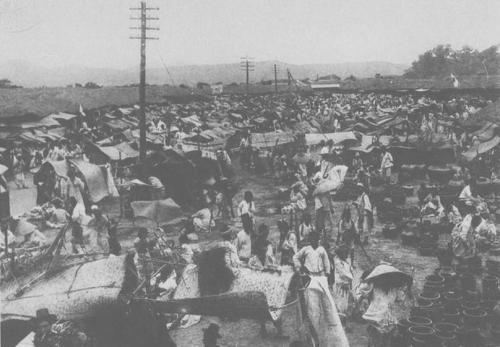 朝鮮大邱港市場