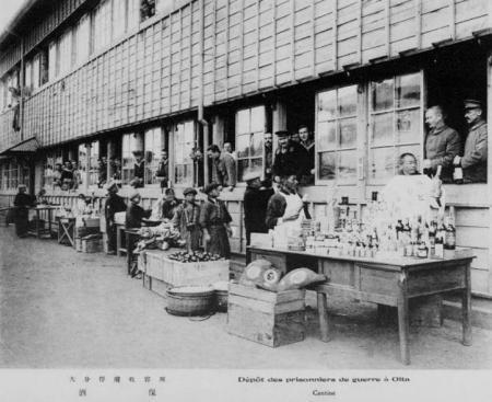 ドイツ兵捕虜ウインドウショッピング