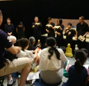 竹の子会の上演も盛況