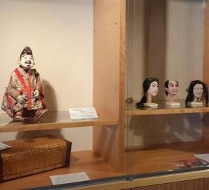 国登録有形民俗文化財の人形も