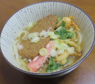 ミツハ天ぷら入りウドン