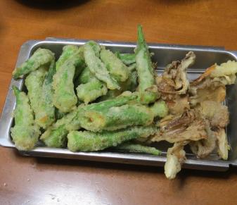 オクラ天ぷら