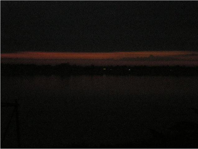2018-7-26ラオスメコン川の朝6時07分
