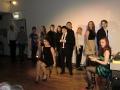 モスクワの演劇大学生のパフォーマンス