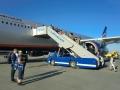 シェレメチェボ空港に到着