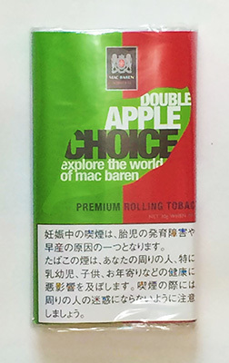 CHOICE_DOUBLE_APPLE, CHOICE, チョイス・ダブルアップル, チョイス アップルフレーバー 手巻きタバコ シャグ RYO