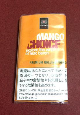 チョイス・マンゴー チョイス CHOICE_MANGO CHOICE マンゴーフレーバー フレーバーシャグ 手巻きタバコ RYO