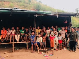 プレア・プット村の人たち