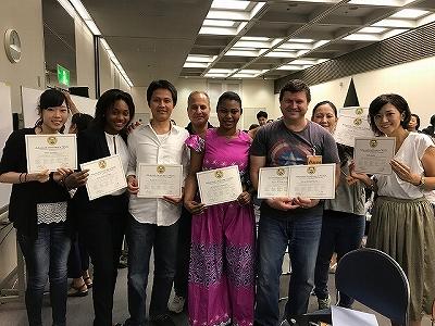 2018TESOL5日間コース卒業1