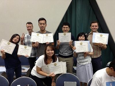 2018TESOL5日間コース卒業4