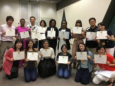 2018TESOL5日間コース卒業7