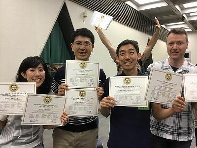 2018TESOL5日間コース卒業10