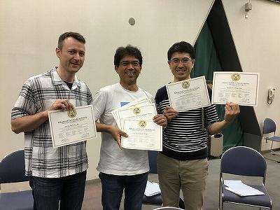 2018TESOL5日間コース卒業11