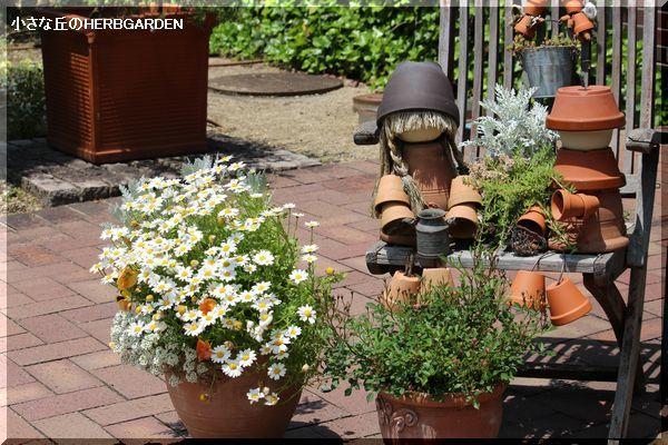 600 植木鉢のオブジェ