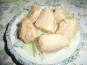 鶏むね肉,焼肉ダレ