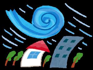 自然災害,台風