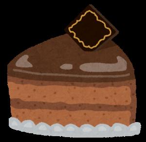 チョコレートビスケットケーキ