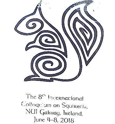 国際リス類コロキウムのロゴ