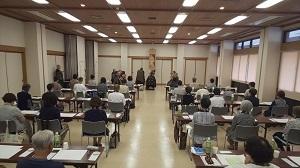 2018/09/08写経会