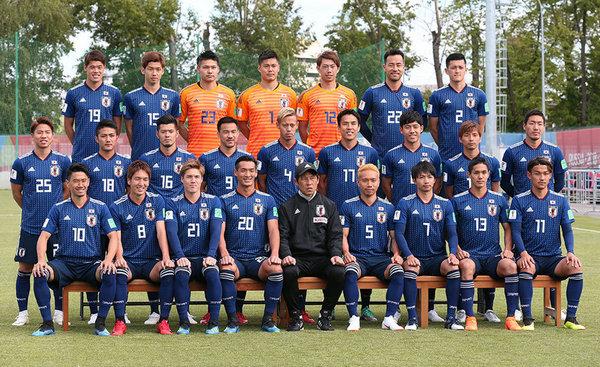 ロシアW杯 日本代表