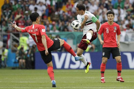 サッカー 韓国 メキシコ ワールドカップ